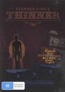 STEVEN KING'S THINNER DVD REGION FREE AUSTRALIAN MADE NEW AND SEALED