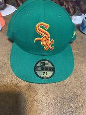 Chicago White Sox MLB Baseball Hat New Era 59Fifty Size 7 3/8 cap