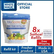 Bluapple with Activated Carbon Refill Kit 8x Sathcel Refills