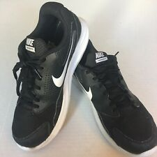 best service 531a8 49a36 New listing Nike Mens Trainer Athletic Shoes Lace Up Black White EUC Size  10.5 A9