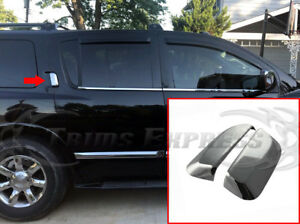 fit:2004-2015 Nissan Armada Rear Door Chrome Handle Covers 2Pc