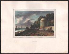 Charles Motte. Bercy. Lithographie d'après Deroy. Vers 1830. Paris