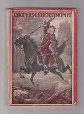 Coopers Lederstrumpf Eine Erzählung aus dem wilden Westen J. F. Cooper 1930er
