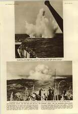 1952 Anti Submarine Attack Squid And Depth Charge Comparing