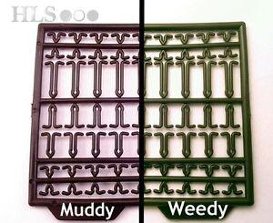 Hair rig extender stop HLS Boilie bait pellet stops Weedy or Muddy [HR]