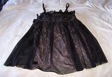 JayJays Ladies Black Pale Pink Coloured Mesh Finish Dress Size 10 New RRP $39.95