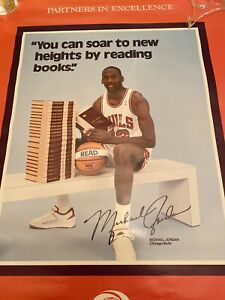 Michael Jordan Rookie Poster Partners In Excellence