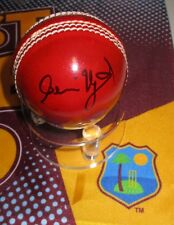 Clive Lloyd  (West Indies) signed Red Cricket Ball + COA + Photo Proof