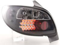LED Rückleuchten Set Peugeot 206 3/5 trg. ohne Cabrio Bj. 98-05 schwarz