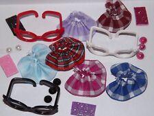 💞Littlest Pet Shop clothes lps accessories Random 8 Pc. Nerd *Cat Not Included*