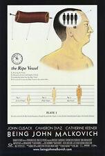 Being John Malkovich (1999) Original Movie Poster - Rolled