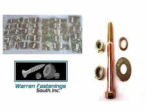 Grade 8 Assortment Kit Bolt Nuts Flat Lock Washer & Lock Nuts 4250 PC Coarse