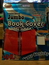 Book cover Sox New Stretch Fabric text jumbo xxl red