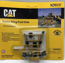 Norscot Cat Rome Wing-Fold Disk 1:64 Scale New #55012