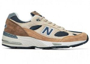 Scarpe da ginnastica New Balance 991 Uomo Sneakers Marrone