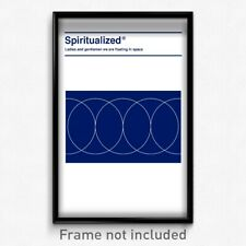 Spiritualized - Ladies and Gentlemen We Are Floating in Space 11x17 Print Poster
