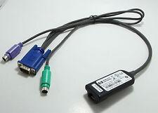 HP  396632-001 RJ45 to VGA PS/2 KVM IP CAT5 Interface Adapter Cable 286597-001