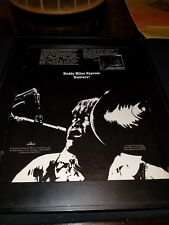 Buddy Miles Express Expressway To Your Skull Rare Promo Poster Ad Framed!