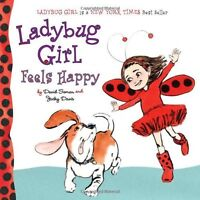 Ladybug Girl Feels Happy by Jacky Davis