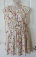 LC Lauren Conrad Floral Pleated Dress Multi-colored Women's Sz XXL NWOT MSRP$50