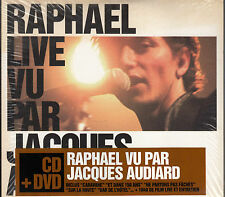 CD ALBUM + DVD RAPHAEL LIVE VU PAR JACQUES AUDIARD / NEUF, SCELLE