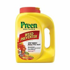 Preen Southern Weed Preventer 4.25 lb bottle Covers 1000 Sq. Ft. Free Shipping