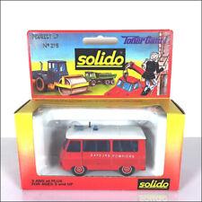 Camions miniatures Solido Peugeot