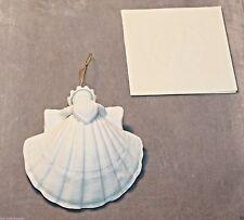"Margaret Furlong 3"" Heart Angel Ornament Porcelain Mib 1986"