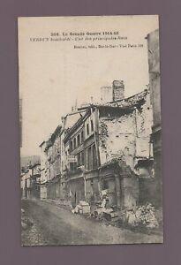 Guerre de 1914-1916 - VERDUN bombardé - Une des principales rues   (C8129)