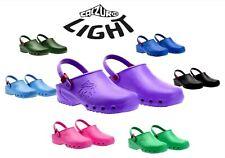 """Calzuro Light"" Nurses Doctors Medical Anatomic Lightweight Clogs Slippers"