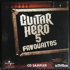 Guitar Hero 5 Favourites CD Sampler Wolfmother Blink 182 Beck Sonic Youth