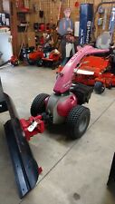 Gravely Rapid M Two Wheel Tractor Model L with Power Broom and Dozer Blade
