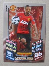 Match Attax Extra 2012/13 - Star Player card - Nani of Manchester United