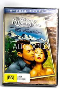 The Snows of Kilimanjaro - Rare DVD Aus Stock New