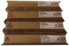 4 x Ricoh Toner 841520/841521/841522/841523 FULL SET Cartridge C2551S B/C/MY NEW
