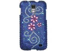 Diamond Plastic Phone Cover Case Juicy Flower For Samsung Galaxy S 2 Skyrocket
