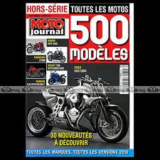 MOTO JOURNAL HS 2911 HORS-SERIE ★ CATALOGUE / TOUTES LES MOTOS 2010 ★ SALON