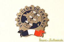 """VESPA IN METALLO-TARGHETTA """"VESPA Club de France"""" - Club Francia emblema SMALTO"""