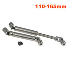 Steel Universal Drive Shaft 110~165mm for 1/10 RC Axial SCX10 D90 Rock Crawler