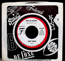 MICKEY MURRAY-People Are Together-Northern Soul Funk Promo 45-FEDERAL #12560
