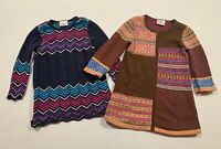 Girls HANNA ANDERSSON Cotton Sweater Dresses Size 100 US 4