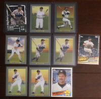 2020 Topps Series 2 New York Yankees HOF Lot of 10: Ruth, Ford, Gehrig, Jackson