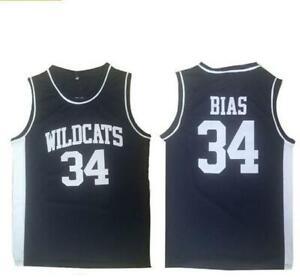 Len Bias 34 Northwestern Wildcats High School Basketball Jersey All Stitched