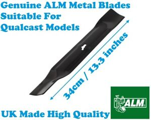 QUALCAST RM34 MEB1434M Lawnmower 34cm Metal Blade ALM GD070