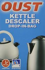 Oust Kettle Descaler Drop in Bag Superfast Limescale Cleaner Scale Remover 75g