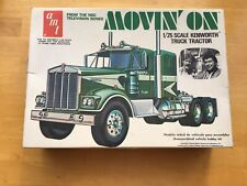 AMT MOVIN' ON 1/25 Scale Kenworth Truck Tractor  From the NBC TV Series (264)