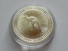 AUSTRALIEN 2020 1 DOLLAR 1OZ SILVER 9999 AUSTRALIAN KANGAROO Perth Mint  in STGL