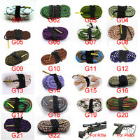 Bore Snake Cleaner Boresnake Gun Cleaning Kit Calibers Rifle Pistol Barrel Brush