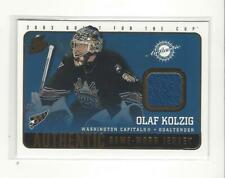 2002-03 Pacific Quest For the Cup #25 Olaf Kolzig JERSEY Capitals