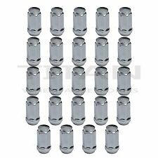 "24x Chrome 2"" Tall Lug Nuts 14x1.5 Bulge Acorn for Chevy Silverado GMC Sierrra"